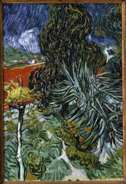 """Vincent van Gogh """"Der Garten von Doktor Gachet in Auvers"""" 73 x 51,5 cm"""