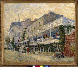 """Vincent van Gogh """"Das Restaurant de la Sirène in Asnières"""" 54,5 x 65,5 cm"""