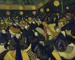 """Vincent van Gogh """"Der Tanzsaal"""" 65 x 81 cm"""