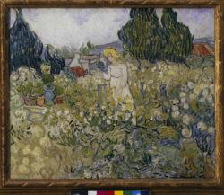 """Vincent van Gogh """"Marguerite Gachet in ihrem Garten"""", 46 x 55,5 cm"""