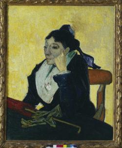"""Vincent van Gogh """"L'Arlésienne"""" (Madame Ginoux) 93 x 74 cm"""