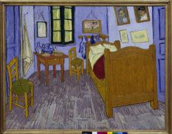 """Vincent van Gogh """"Van Goghs Schlafzimmer in Arles"""", 56,5 x 74 cm"""