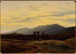 """Caspar David Friedrich """"Ruine im-Riesengebirge""""  103 x 72 cm"""