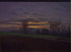 "Caspar David Friedrich ""Sturzacker""  47 x 35 cm"