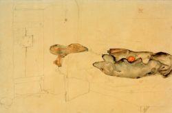 """Egon Schiele """"Die eine Orange war das einzige Licht"""" 48 x 32 cm"""