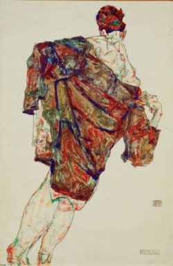 "Egon Schiele ""Erlösung"" 32 x 49 cm"