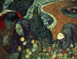"""Vincent van Gogh """"Erinnerung an den Garten in Etten"""", 73,5 x 92,5 cm"""