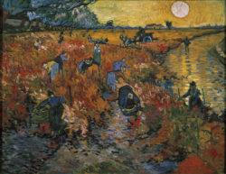 """Vincent van Gogh """"Der rote Weinberg"""" 73 x 91 cm"""