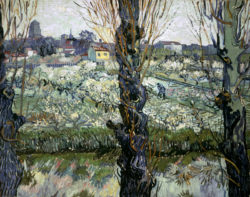 "Vincent van Gogh ""Blick auf Arles"" 72 x 92 cm"