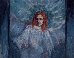 """Vincent van Gogh """"Der Engel"""" (nach Rembrandt), 54 x 64 cm"""