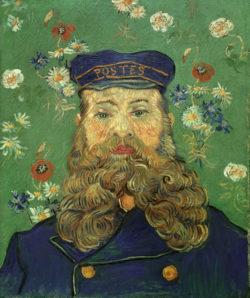 "Vincent van Gogh ""Bildnis Joseph Roulin"", 65 x 54 cm"