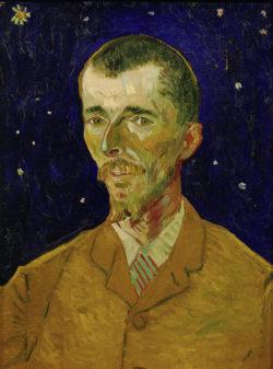 """Vincent van Gogh """"Bildnis des belgischen Dichters Eugene Boch"""" 60 x 45 cm"""