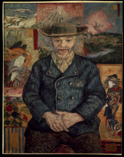 "Vincent van Gogh ""Bildnis Pere Tanguy"". Paris 92 x 75 cm"