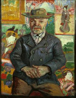 "Vincent van Gogh ""Bildnis Pere Tanguy"". 65 x 51 cm"