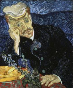 "Vincent van Gogh ""Bildnis Doktor Gachet"".Auvers 67 x 56 cm"