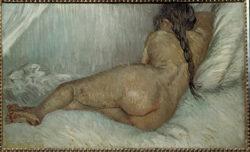 """Vincent van Gogh """"Weiblicher Rueckenakt"""", 38 x 61 cm"""