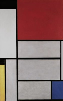 "Piet Mondrian ""Tableau"" 96 x 60 cm"