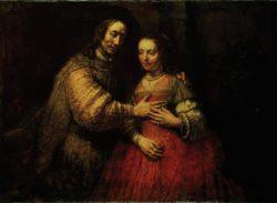 """Rembrandt """"Isaak-und-Rebekka"""" 122 x 167 cm"""