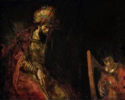 """Rembrandt """"David-und-Saul"""" 131 x 164 cm"""