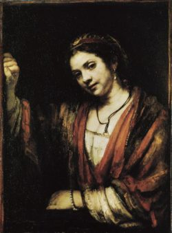 "Rembrandt ""Bildnis-der-Hendrickje-Stoffels"" 359 x 438 cm"