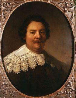 """Rembrandt """"Bildnis-des-Willem-Burggraeff"""" 126 x 167 cm"""