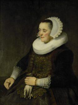 """Rembrandt """"Weibliches-Bildnis"""" 70.5 x 64 cm"""