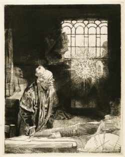 """Rembrandt """"Faust"""" 113 x 99.5 cm"""