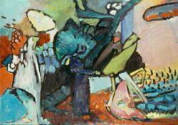 "Wassily Kandinsky ""Improvisation"" 96 x 70 cm"