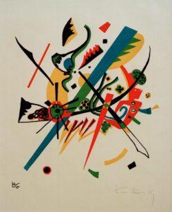 """Wassily Kandinsky """"Kleine Welten"""" 22 x 24 cm"""