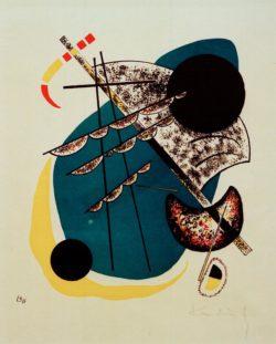 """Wassily Kandinsky """"Kleine Welten"""" 21 x 25 cm"""