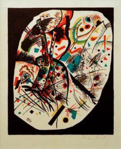 """Wassily Kandinsky """"Kleine Welteni"""" 23 x 27 cm"""