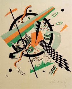 """Wassily Kandinsky """"Kleine Welten"""" 25 x 26 cm"""