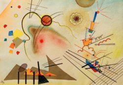 """Wassily Kandinsky """"Aquarell"""" 36 x 25 cm"""