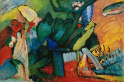"Wassily Kandinsky ""Improvisation"" 158 x 107 cm"