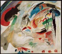 "Wassily Kandinsky ""Improvisation"" 139 x 120 cm"