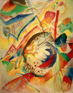 """Wassily Kandinsky """"Große Studie"""" 79 x 100 cm"""