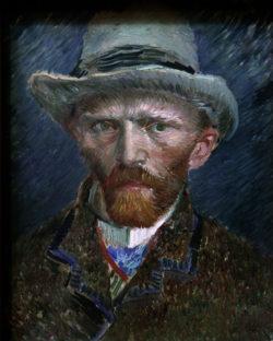 "Vincent van Gogh ""Selbstbildnis"" 42 x 34 cm"