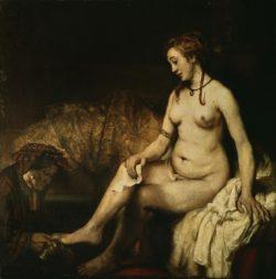 "Rembrandt ""Bathseba-im-Bade"" 122 x 167 cm"