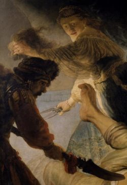 "Rembrandt ""Die-Blendung-Simsons"" 173 x 209 cm"