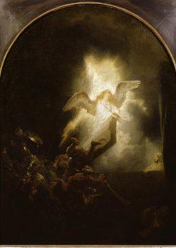 """Rembrandt """"Die-Auferstehung-Christi"""" 61 x 49.5 cm"""