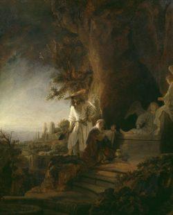 "Rembrandt ""Christus-erscheint-Maria-Magdalena"" 96.2 x 72.2 cm"