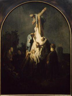 """Rembrandt """"Die-Kreuzabnahme"""" 62 x 50 cm"""