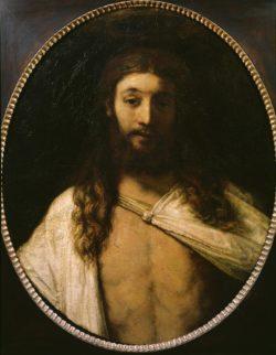 """Rembrandt """"Der-auferstandene-Christus"""" 81.3 x 68 cm"""