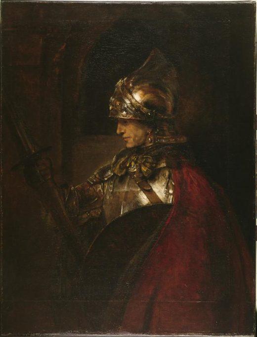 """Rembrandt """"Alexander-der-Große"""" 29.9 x 24"""