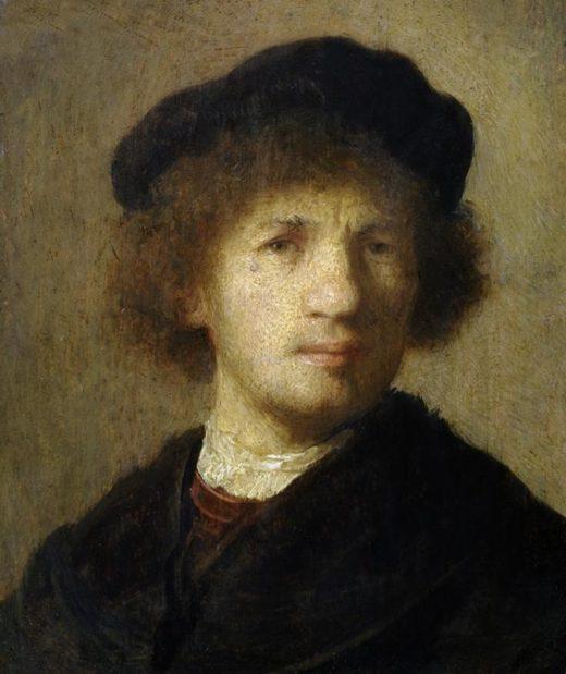 "Rembrandt ""Rembrand-Selbstbildnis"" 101.5 x 81"