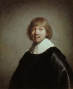 """Rembrandt """"Bildnis-des-Jacques-III-de-Gheyn"""" 91 x 77 cm"""