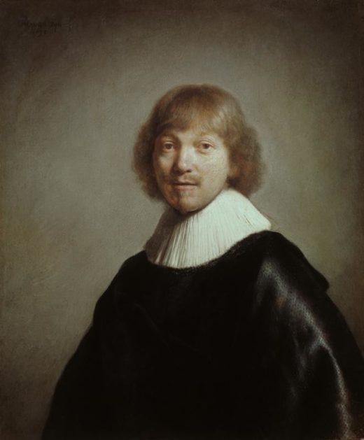 """Rembrandt """"Bildnis-des-Jacques-III-de-Gheyn"""" 91 x 77 cm 1"""