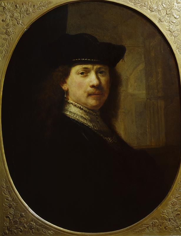 "Rembrandt ""Bildnis-Rembrandtts"" 145 x 135.5 cm"