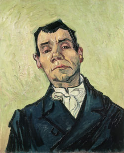 """Vincent van Gogh """"Bildnis eines Mannes"""", 65 x 54,5 cm"""