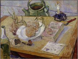 """Vincent van Gogh """"Stilleben mit Zeichenbrett 50 x 64 cm"""